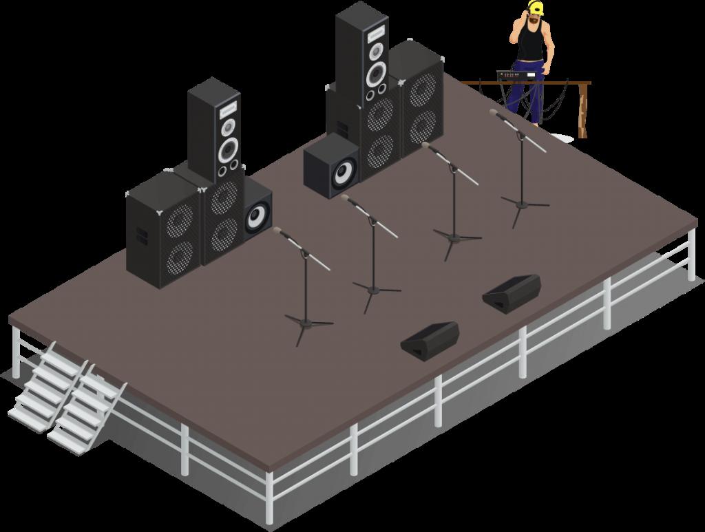 sewa sound system 5000 watt