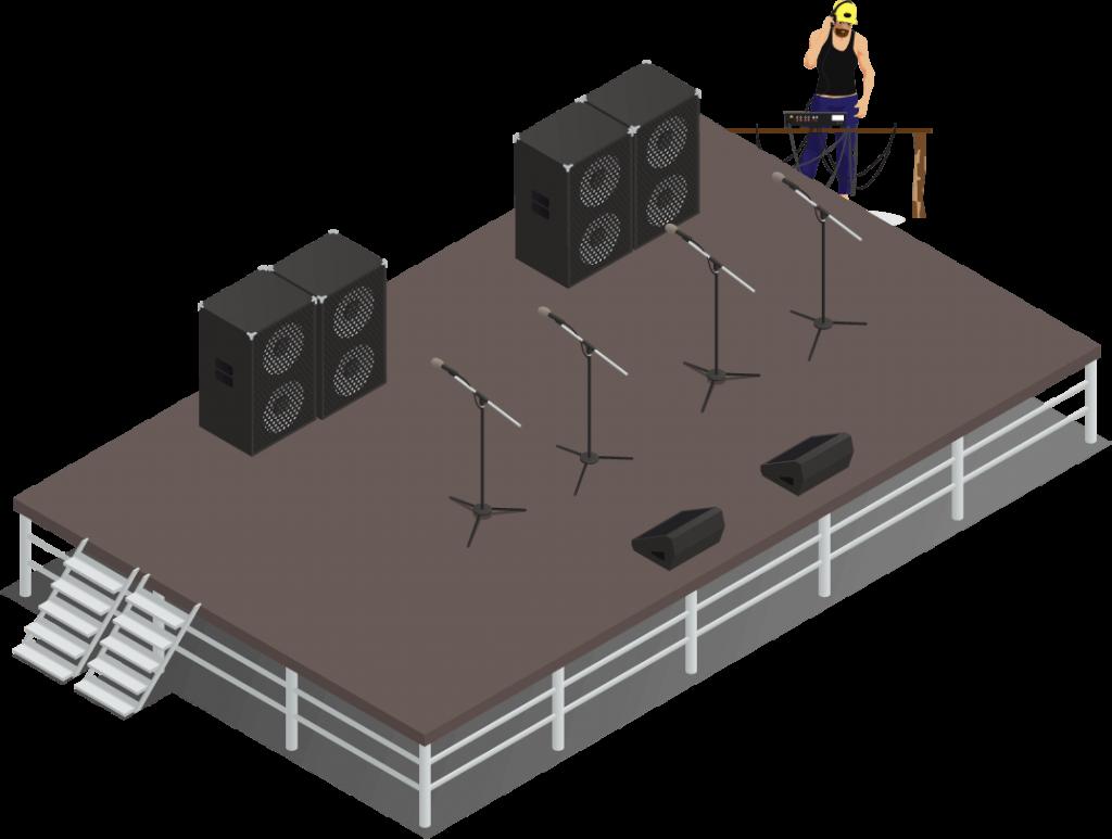 sewa sound system 2000 watt