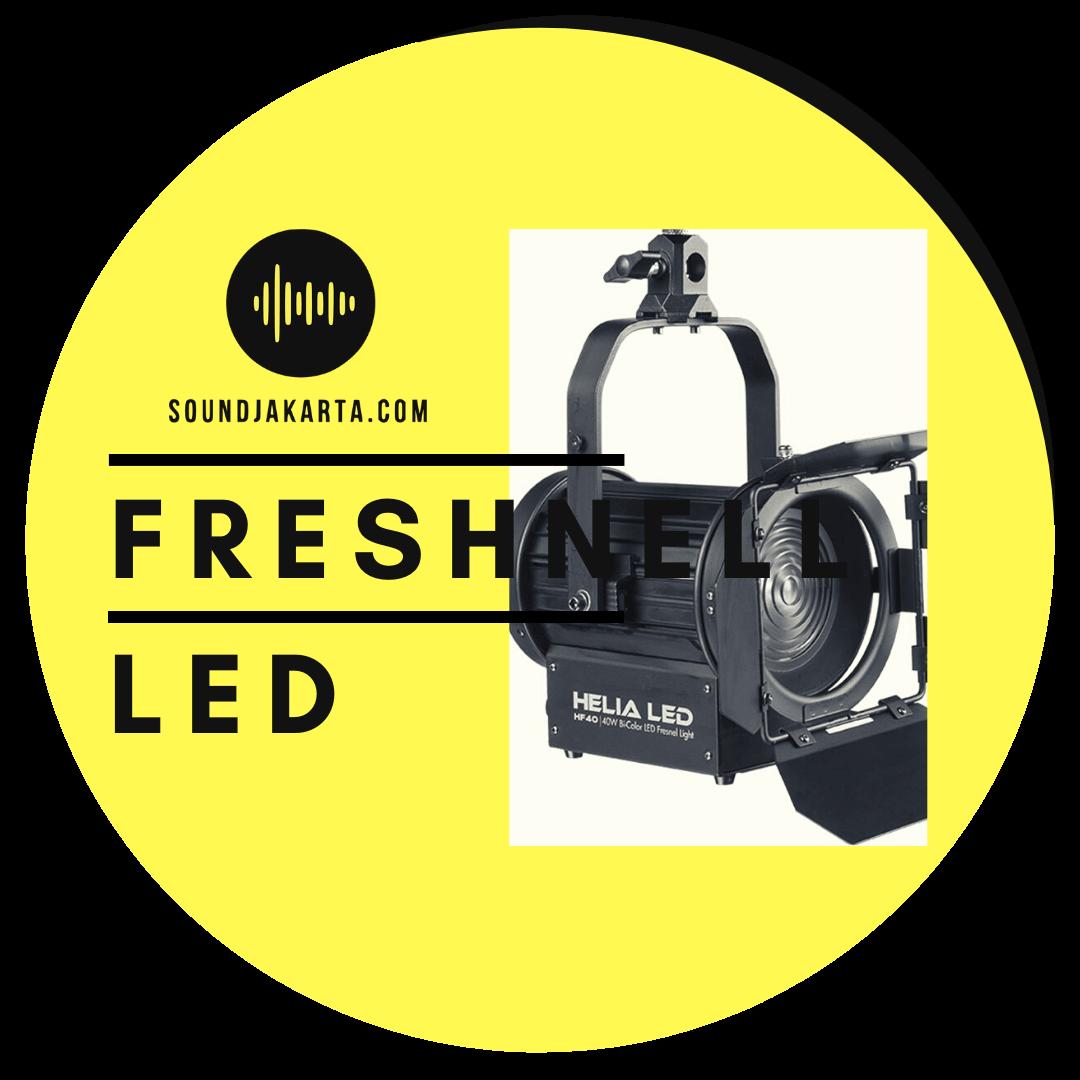 sewa lighting panggung freshnell led