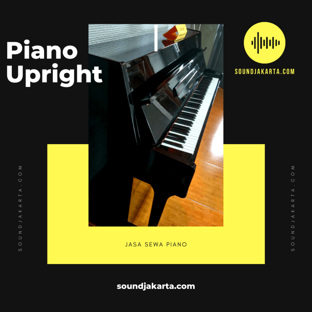 Sewa Piano Upright