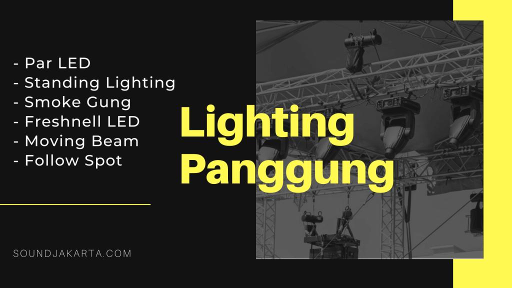 sewa lighting panggung