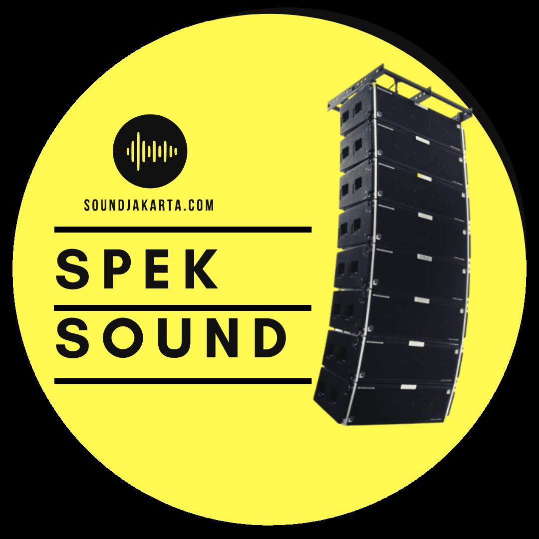 spesifikasi sound system