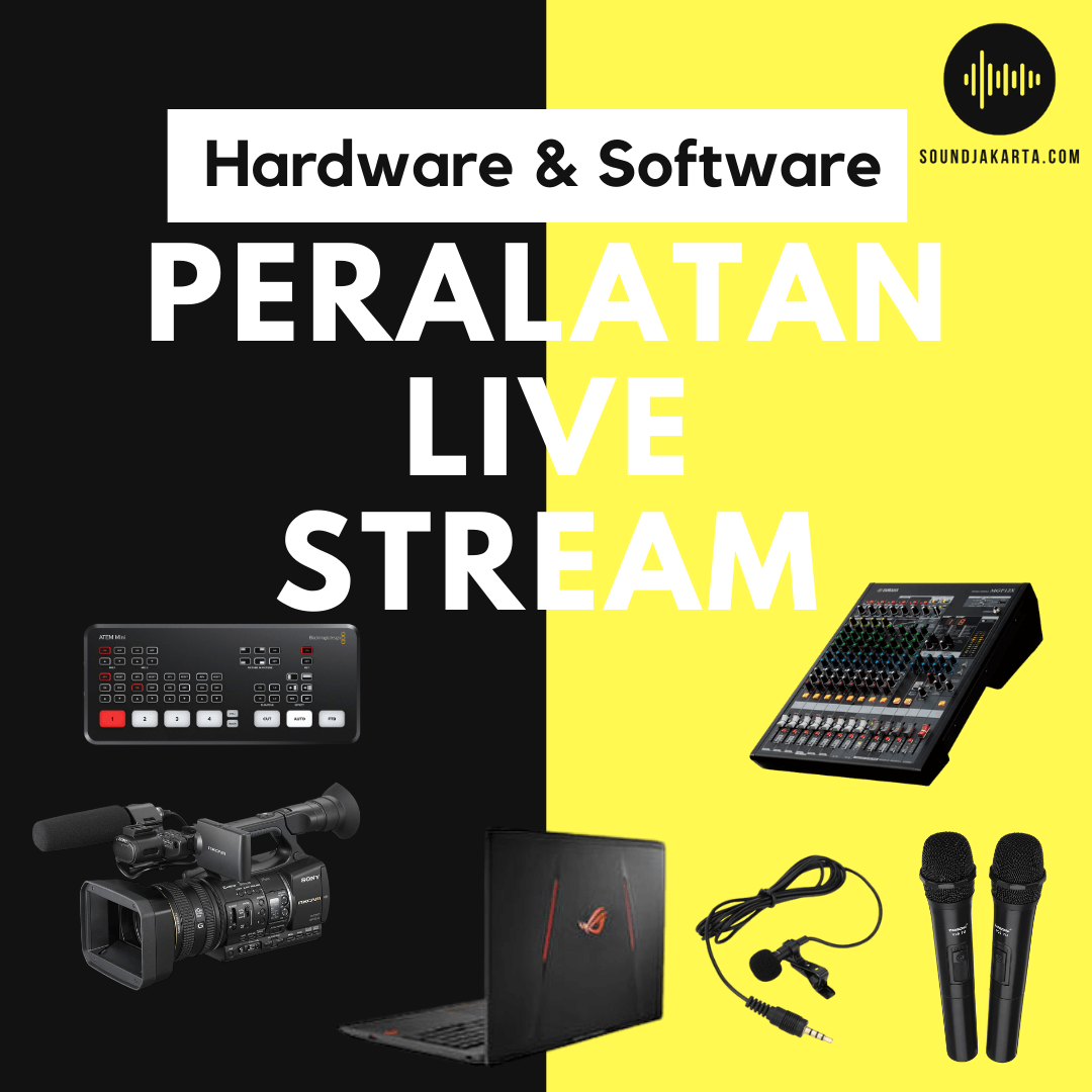 peralatan live streaming