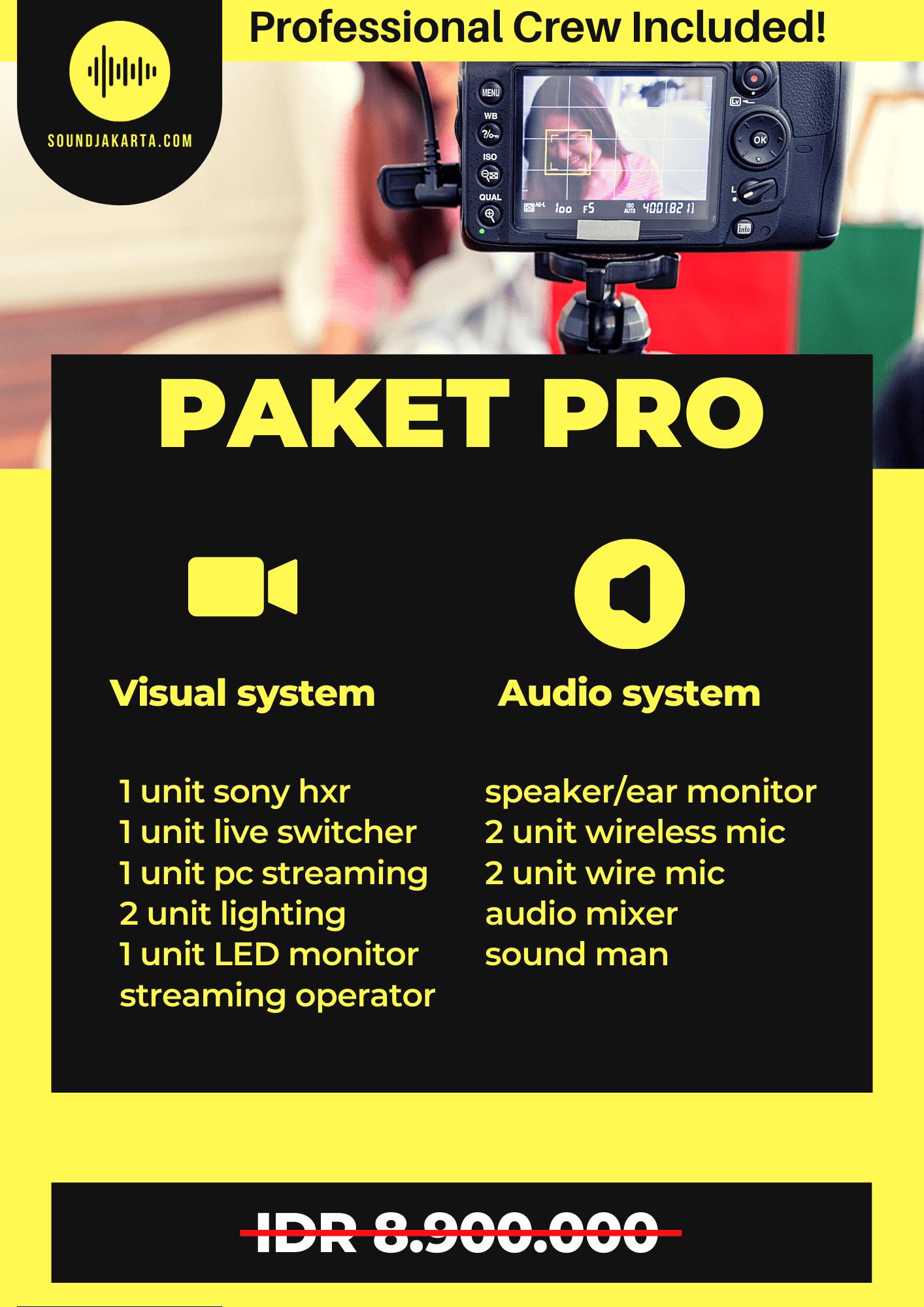 paket live streaming